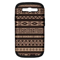 Ethnic Pattern Vector Samsung Galaxy S Iii Hardshell Case (pc+silicone)