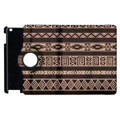 Ethnic Pattern Vector Apple Ipad 3/4 Flip 360 Case
