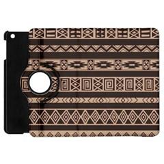 Ethnic Pattern Vector Apple Ipad Mini Flip 360 Case