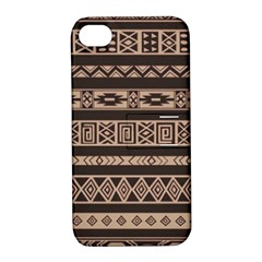 Ethnic Pattern Vector Apple iPhone 4/4S Hardshell Case with Stand