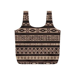 Ethnic Pattern Vector Full Print Recycle Bags (s)