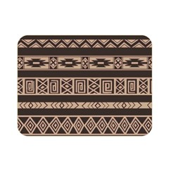 Ethnic Pattern Vector Double Sided Flano Blanket (mini)