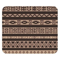 Ethnic Pattern Vector Double Sided Flano Blanket (small)