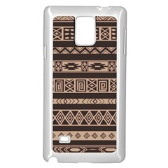 Ethnic Pattern Vector Samsung Galaxy Note 4 Case (White)