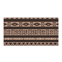 Ethnic Pattern Vector Satin Wrap