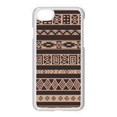Ethnic Pattern Vector Apple Iphone 7 Seamless Case (white)