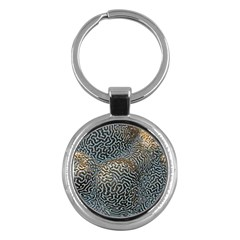 Coral Pattern Key Chains (round)