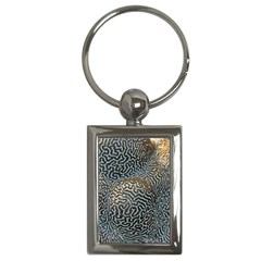 Coral Pattern Key Chains (rectangle)