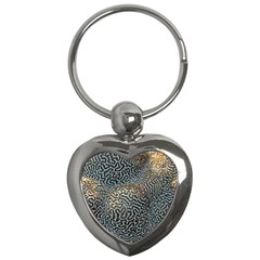 Coral Pattern Key Chains (heart)