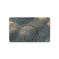 Coral Pattern Magnet (name Card)