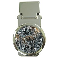Coral Pattern Money Clip Watches