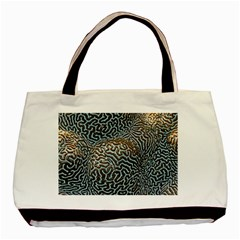Coral Pattern Basic Tote Bag (two Sides)