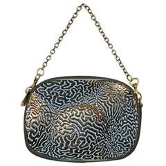 Coral Pattern Chain Purses (one Side)