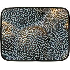 Coral Pattern Fleece Blanket (Mini)