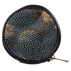 Coral Pattern Mini Makeup Bags
