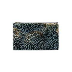 Coral Pattern Cosmetic Bag (Small)