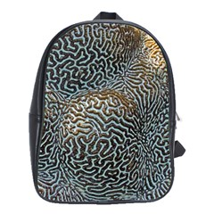 Coral Pattern School Bags(large)