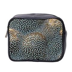 Coral Pattern Mini Toiletries Bag 2-Side