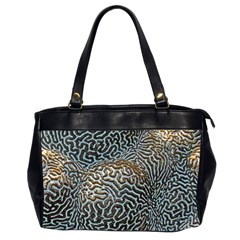 Coral Pattern Office Handbags (2 Sides)