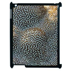 Coral Pattern Apple Ipad 2 Case (black)