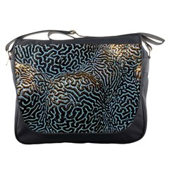Coral Pattern Messenger Bags