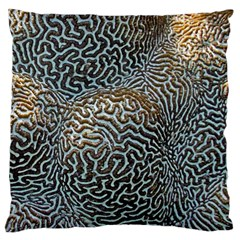 Coral Pattern Large Cushion Case (two Sides)