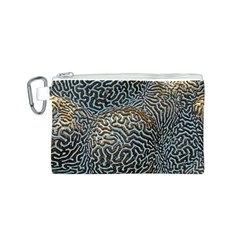 Coral Pattern Canvas Cosmetic Bag (s)