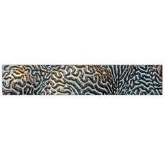 Coral Pattern Flano Scarf (large)