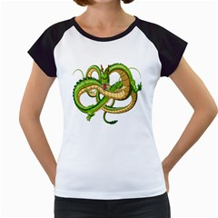 Dragon Snake Women s Cap Sleeve T