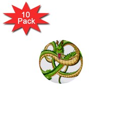 Dragon Snake 1  Mini Buttons (10 pack)