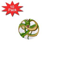 Dragon Snake 1  Mini Magnet (10 pack)
