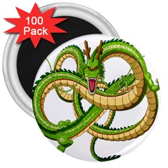 Dragon Snake 3  Magnets (100 pack)