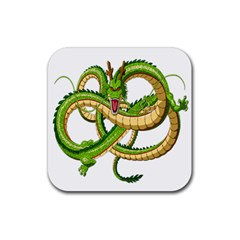 Dragon Snake Rubber Square Coaster (4 pack)