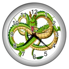 Dragon Snake Wall Clocks (Silver)