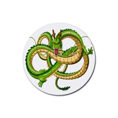 Dragon Snake Rubber Round Coaster (4 Pack)