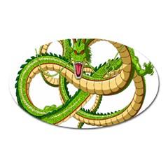 Dragon Snake Oval Magnet