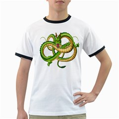 Dragon Snake Ringer T-Shirts