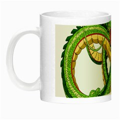 Dragon Snake Night Luminous Mugs