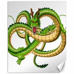 Dragon Snake Canvas 16  x 20