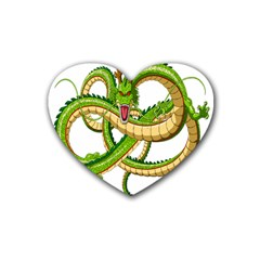 Dragon Snake Heart Coaster (4 pack)
