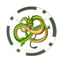 Dragon Snake Poker Chip Card Guard