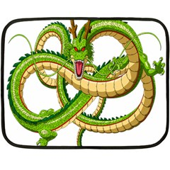 Dragon Snake Double Sided Fleece Blanket (Mini)