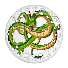 Dragon Snake Ornament (round Filigree)