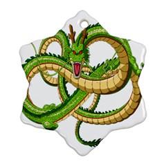 Dragon Snake Snowflake Ornament (two Sides)