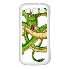 Dragon Snake Samsung Galaxy S3 Back Case (white)