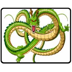 Dragon Snake Double Sided Fleece Blanket (medium)