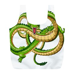 Dragon Snake Full Print Recycle Bags (l)