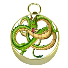 Dragon Snake Gold Compasses