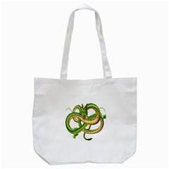 Dragon Snake Tote Bag (white)