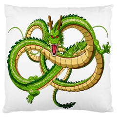 Dragon Snake Large Flano Cushion Case (Two Sides)
